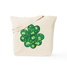 St Patricks Day Owl Tote Bag
