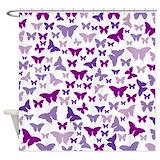 Butterflies Shower Curtains