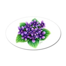 Violets Wall Decal