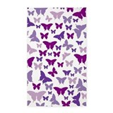 Purple butterfly rug 3x5 Rugs