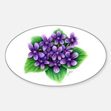 Violets Decal