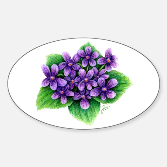 Violets Decal