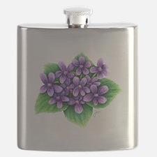 Violets Flask