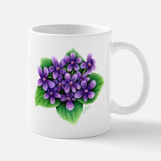 Violets Mugs