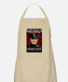 Thought Police Free Speech Free Thought Apron