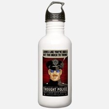 Thought Police Free Sp Sports Water Bottle