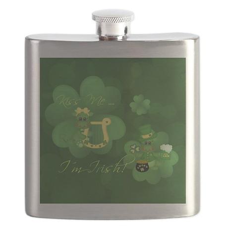 St Patrick Dragon Flask