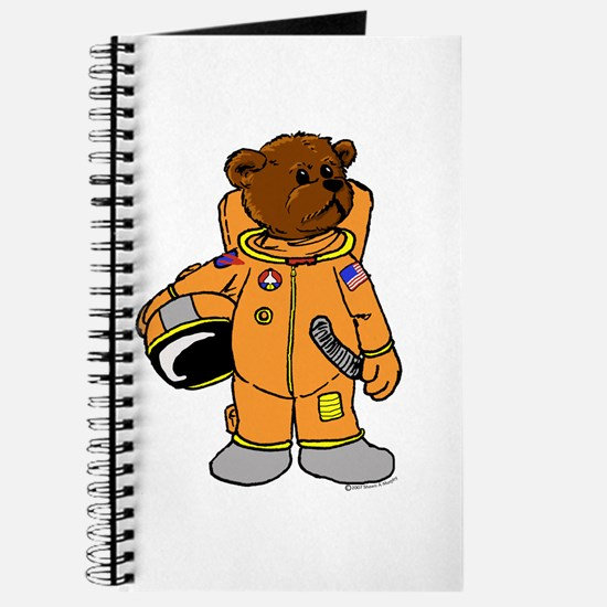 Buzz the Astronaut Bear Journal