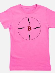 Bitcoin compass Girl's Tee