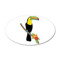 Toucan Bird Wall Decal