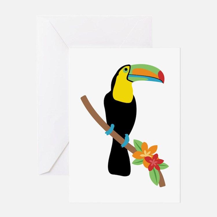 Toucan Bird Greeting Cards