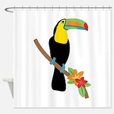 Toucan Bird Shower Curtain