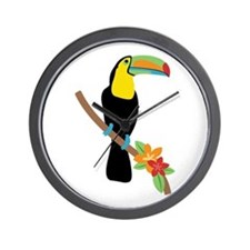 Toucan Bird Wall Clock