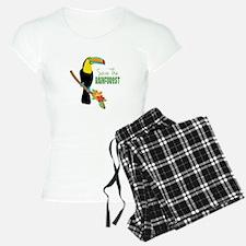 Save The Rainforest Pajamas