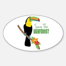 Save The Rainforest Decal
