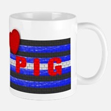 LEATHER PRIDE/PIG/BRICK Mug