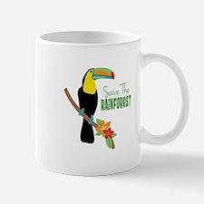 Save The Rainforest Mugs