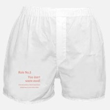 RULE NO. 5 Boxer Shorts