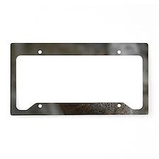Dwarf Mongoose License Plate Holder