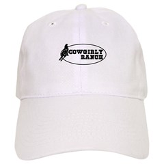Cowgirly Ranch Logo Baseball Cap