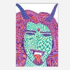 Demon of Psychedelia Postcards (Package of 8)
