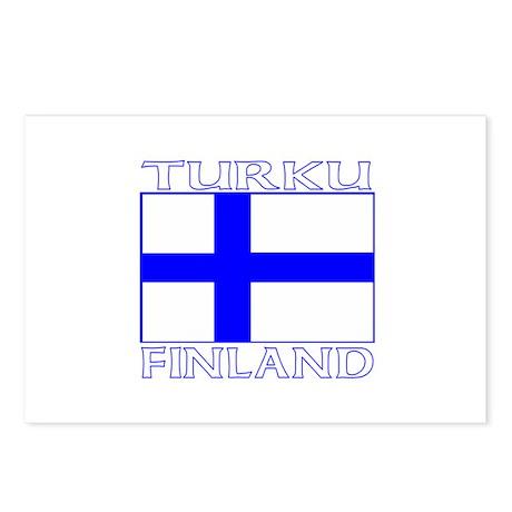 Turku, Finland Postcards (Package of 8)