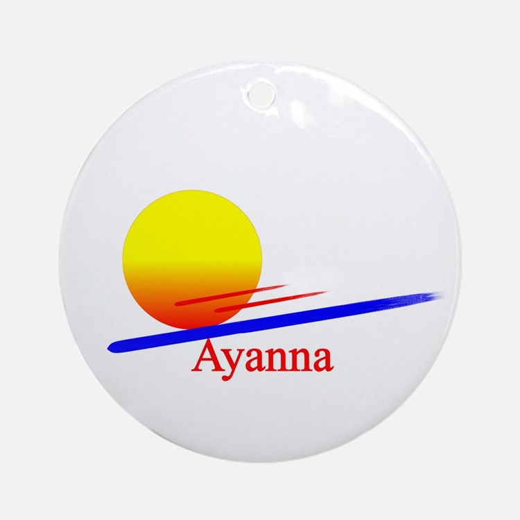 Ayanna Ornament (Round)