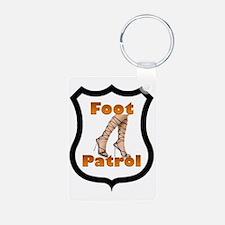 Foot Patrol Keychains