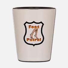 Foot Patrol Shot Glass