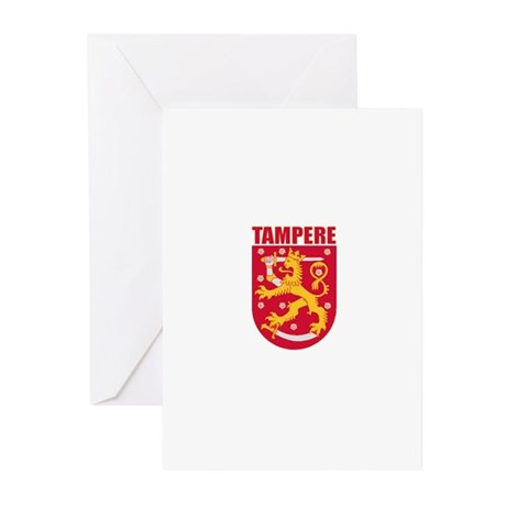 Tampere, Finland Greeting Cards (Pk of 10)
