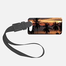 Wonderful Sunset Luggage Tag