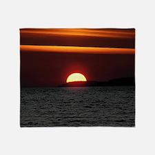 Wonderful Sunset Throw Blanket