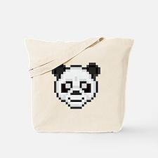 Pixel Panda Tote Bag
