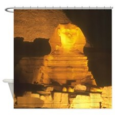 Sphinx At Night Shower Curtain