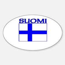 Suomi Oval Decal