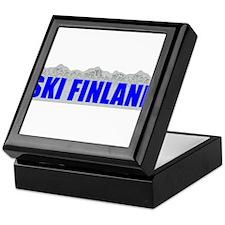 Ski Finland Keepsake Box
