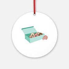 Donut Box Ornament (Round)