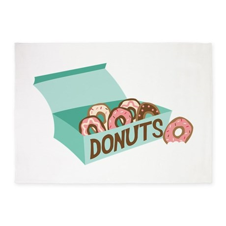 Donuts 5'x7'Area Rug