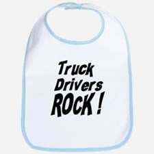 Truck Drivers Rock ! Bib
