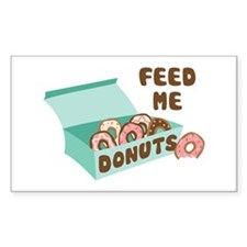 Feed Me Donuts Decal
