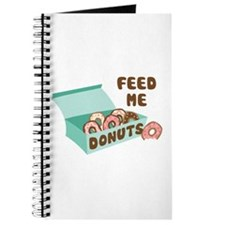 Feed Me Donuts Journal