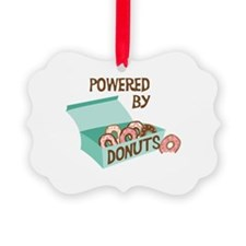 Powered By Donuts Ornament