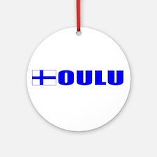 Oulu, Finland Ornament (Round)