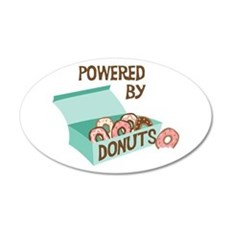 Powered By Donuts Wall Decal