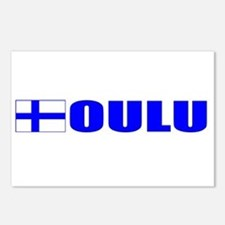 Oulu, Finland Postcards (Package of 8)