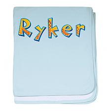 Ryker Giraffe baby blanket