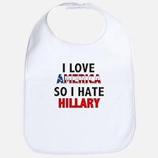 I Hate Hillary Bib