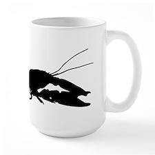 Crawfish Silhouette Mugs