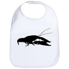 Crawfish Silhouette Bib