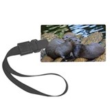 River otter Luggage Tags